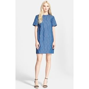 kate spade Dresses - Kate Spade Quilted Chambray Shift Dress